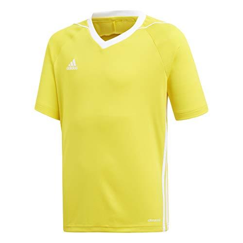 adidas Youth Tiro 17 Soccer Jersey M Yellow/White