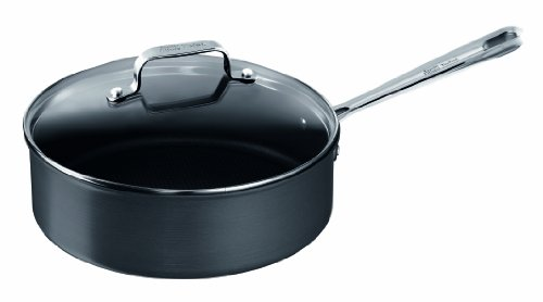 Tefal E86532 Jamie Oliver Hard Anodised Pfannen, 24 cm, Induktionseignung