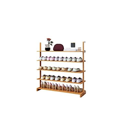 Zapatero Tallera de zapatos de bambú, Organizador de zapatos independientes Organizador de zapatos Estante de zapatos Torre para la sala de estar dormitorio Entrada de la entrada Closet Caja de zapato