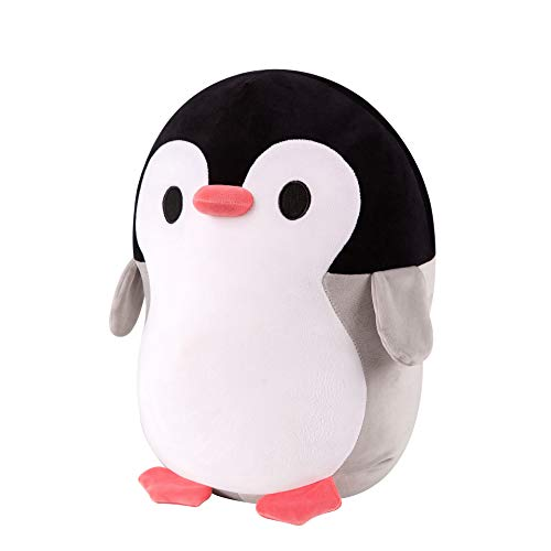 Stuffed Animals, Giant Plush Toy Penguin, Soft squeezable Stuffed Animal , Plush Toy for Sleep Buddy, Stuffed Animal for Cuddling, Stress Relief, Concentration and Great for Autism