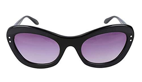 Moschino Sonnenbrille Mo757S01Sa Gafas de sol, Negro (Schwarz), 54 para Mujer