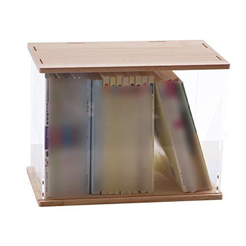 LM-Coat rack XINGLL Acrílico Vitrina Transparente, Caja Prueba Polvo, Cubo Apilable para Coleccionables, Figuras, Juguetes, Libros, Modelos, Muñecas, Perfumes, Protección Almacenamiento