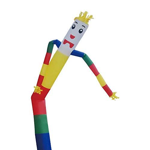Faltbare Hüpfburg Dancer Anlage, Spaß Riesen Air Spielzeug Partyangebot for Indoor- und Outdoor-Deko, Display, Halloween (kein Gebläse) 8bayfa (Color : C, Size : 7m/23ft)