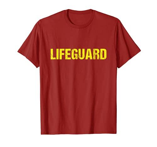 Lifeguard Rettungsschwimmer Bademeister Schwimmmeister T-Shirt