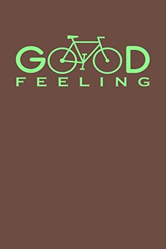 Notizbuch für Fahrradfahrer: A5 kariert I Agenda Journal I gebunden I 120 Seiten Karo I Softcover I matt I Geschenkidee