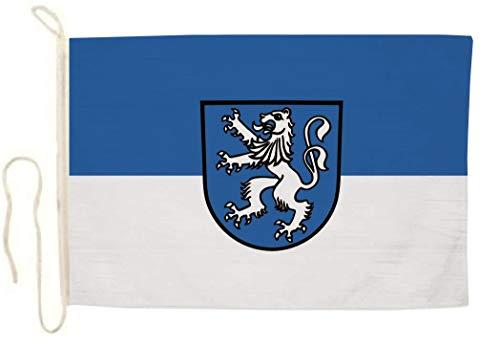 U24 Motorradflagge Bonndorf im Schwarzwald Fahne Flagge 20 x 30 cm
