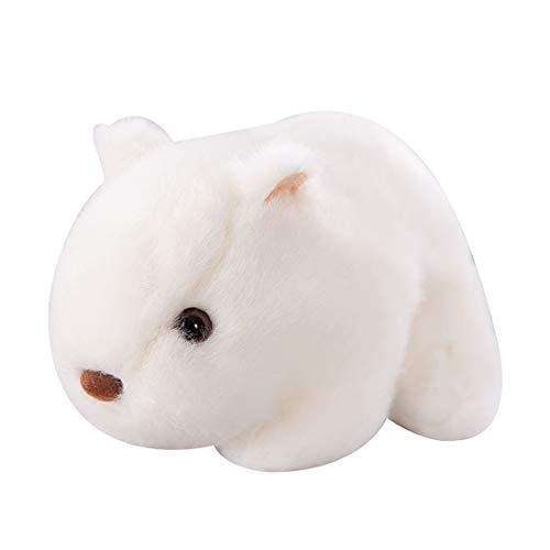Ashymily 7' Cute Plush Guinea Pig Toy Stuffed Guinea Pig Toys for Children, White