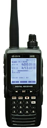 AOR AR-DV10 RICEVITORE SCANNER PORTATILE 100 KHZ-3 GHZ ANAL.DIGITALE 800084