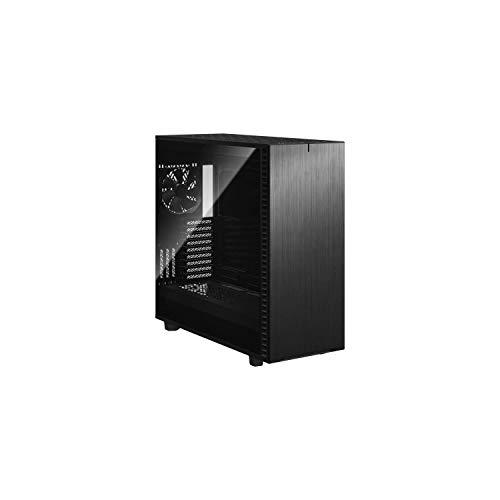 Fractal Design Define 7 XL Black Brushed Aluminum/Steel E-ATX Silent Modular Tempered Glass Window...