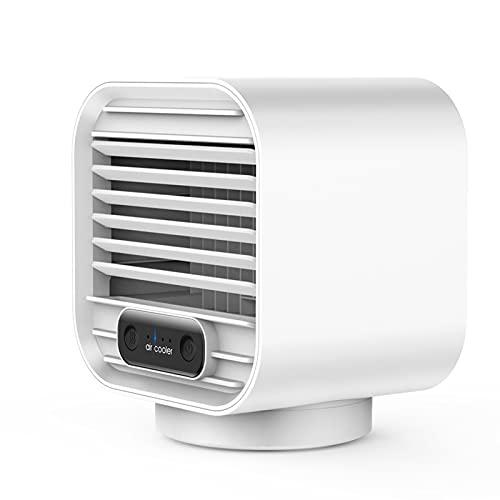 Mini - Ventilador Refrigerado Por Agua Carga De Escritorio Doméstico Mini - Ventilador Humidificador M-302 carga blanca