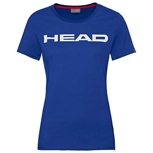 HEAD Damen Club Lucy T-Shirt W, royal White, M