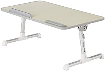 Amazon Basics Adjustable and Portable Laptop Table (Large)