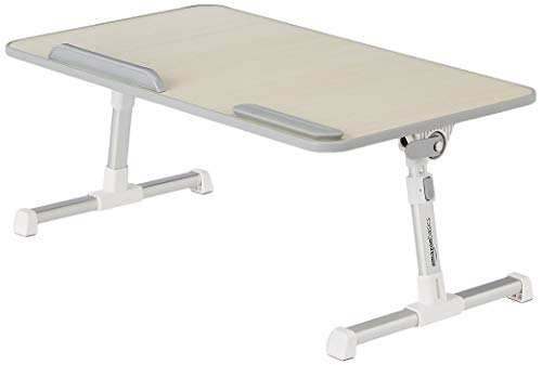 Amazon Basics Adjustable and Portable Laptop Table - Large