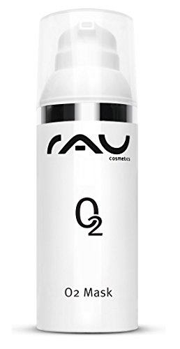 RAU O2 Mask 50ml - Anti-Aging Gesichtsmaske gegen Pickelmale, Fahle Haut und Raucherhaut