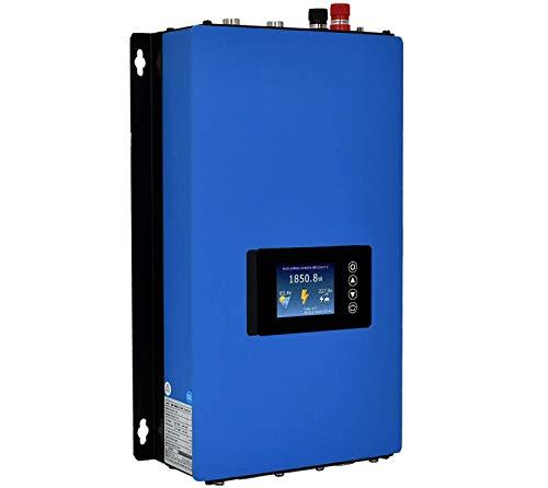 Y&H 2000W 2KW Grid Tie Inverter Power Limiter LCD Display DC60-110V Solar Input AC185-265V Output PV System SUN-2000GTIL2-T