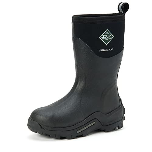 Muck Boot womens Mmm-500a boots, Black, 14 Women 13 Men US