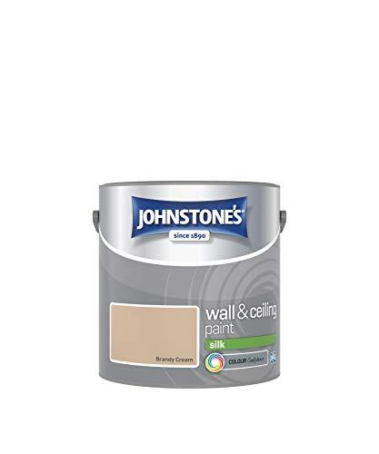Johnstone's 306593 Vinyl Silk Emulsion - Brandy Cream,2.5 by Johnstone's