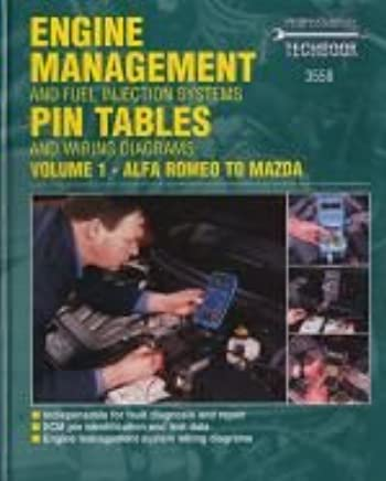 engine management and fuel injection systems pin tables and wiring diagrams:  alfa romeo - mazda v  1 (haynes professional techbooks) hardcover – march  31,