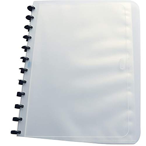 Elba 22903127 - Carpeta con 25 fundas, color transparente
