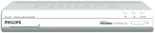Philips DIS 2221 Sateliten Receiver, kann alle Sender, aber NICHT SKY! (seit 20.11.2015, SKY bietet keine Verschlüsselung mehr an!)