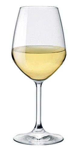 BORMIOLI ROCCO Divino Verre à Pied vin Blanc, 44 cl, en Verre Transparent, 0,02 x 9 x 22 cm