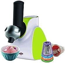 ماكينة صنع الايس كريم مع قطاعات للخضروات والفواكه من برجن - اخضر - VC02