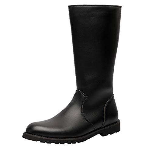 Kaister Herren hohe Stiefel lange stiefel wasserdicht Reitstiefel Warrior Stiefel