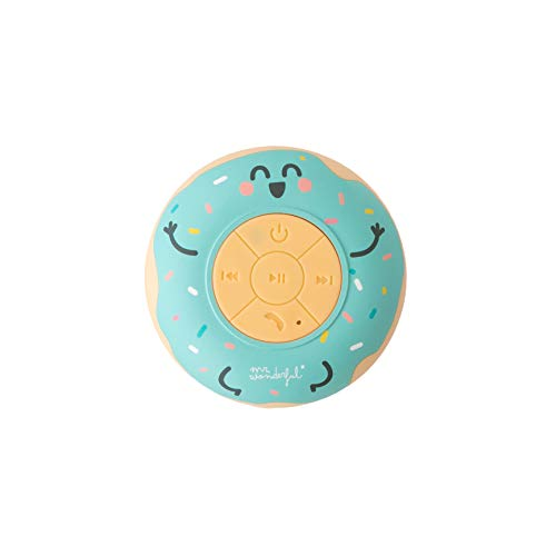 Mr. Wonderful WMRSSPK001 - Altavoz Bluetooth para Ducha con Forma de Rosquilla