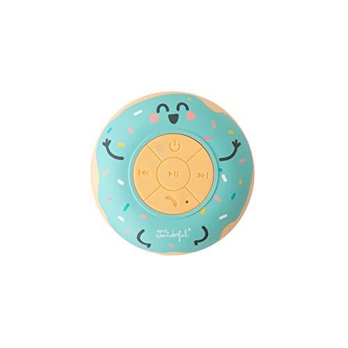 Mr. Wonderful WMRSSPK001 - Altavoz Bluetooth para Ducha con Forma de Rosquilla