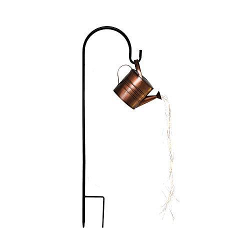 Gießkanne Lampe, UNISOPH Lichterketten Garten Gießkanne Lichter, Stern Dusche Garten Kunst Licht Dekoration Gartenarbeit Rasenlampe im Freien, Wasserfall Form Twinkle Lichterketten