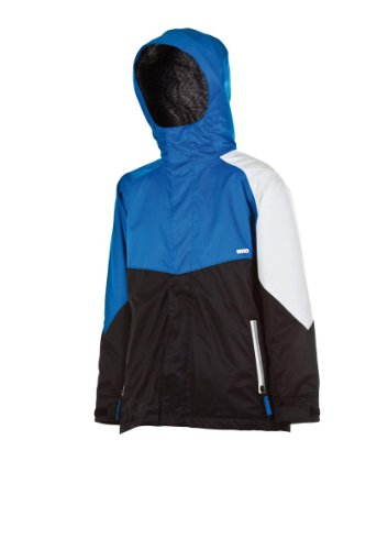 Nitro Snowboards Kinder Jacke White RIOT 13, Hero Blue-Black, XL, 1131-873064