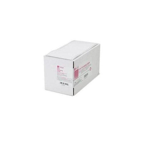 Universal Office Products 75114 Dot Matrix Printer Labels, 1 Across, 2-15/16 X 5, White, 3000/box