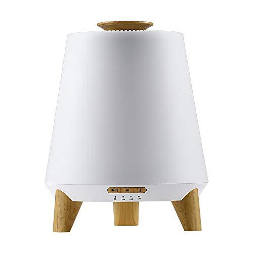 YONGQUAN Bambino umidificatori umidificatore ad ultrasuoni for la Camera (Nebbia Fredda e diffusore), con Telecomando, Bluetooth Lullaby & White Noise, Nightlight for i Bambini (Wood)