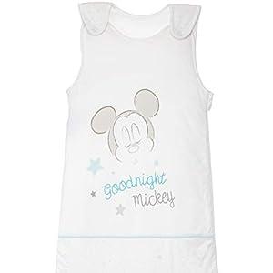 Saco de dormir para bebé, para todo el año, algodón de jersey, con motivos de Mickey Mouse, 18-48 meses, aprox. 110 x 45…