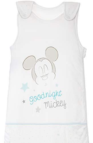 Saco de dormir para bebé, para todo el año, de algodón, con motivos de Mickey Mouse, 0-6 meses, aprox. 70 x 45 cm, TOG 2,5