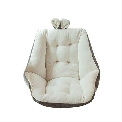 Sitzkissen Halbgeschlossene Ein-Stuhl-Kissen Schreibtisch Warmer, weicher Reise-Memory-Schaum Komfort-Sitzkissenpolster für das Home Office
