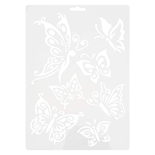 OUNONA Zeichenschablonen Schmetterling Schablonen für Kinder DIY Handwerk Scrapbooking
