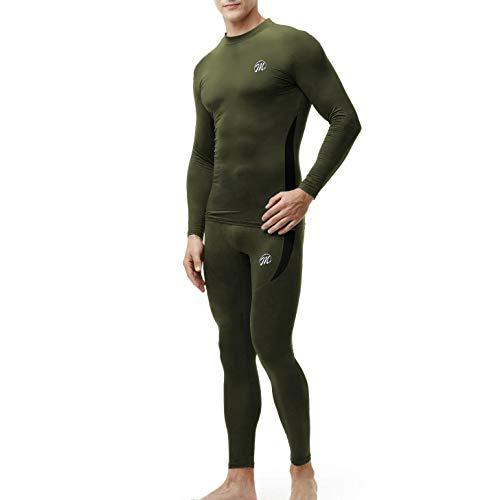 Men's Thermal Underwear Wintergear Fleece Long Johns Compression Base Layer