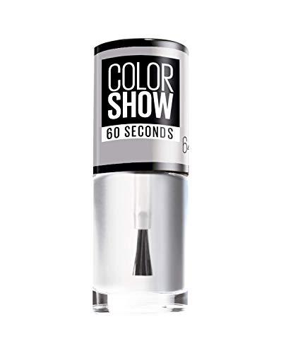 Maybelline New York Color Show, Esmalte de Uñas Secado Rápido, Tono: 649 Clear Shine