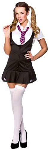 (S) Ladies Naughty Schoolgirl Costume for Sexy Fancy Dress damen by B&S Trendz
