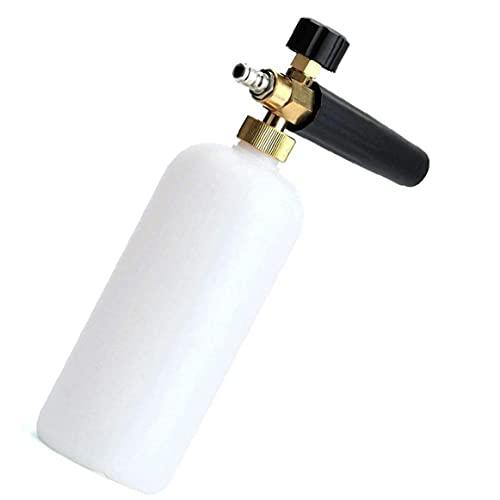 Ajustable Nieve Lanza Espuma Dispensador De Jabón De Alta Presión Lavadoras Spray De Limpieza del Agua Rociador De Jardín Jabón Champú Agua Pulverizador Lavadora