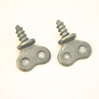 CarBowz EZ Line License Plate Screws and Bolts (Thumb Screws)
