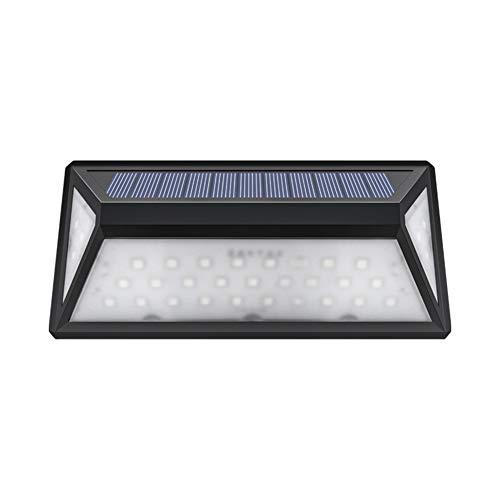 Solarleuchte für Außen 33 LED Solarlampen mit Bewegungsmelder wasserdichte 1200mAh Solar Beleuchtung LED Solar Wandleuchte mit Solarlicht für Garten Patio