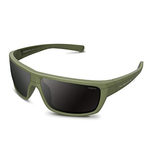 ACBLUCE Polarized Sports Sunglasses for Men Women Fishing Running Cycling Driving Golf Glasses UV400
