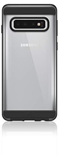 Black Rock Handyhülle Air Robust Hülle kompatibel mit Samsung Galaxy S10 | Hülle, Dünn, Durchsichtig, Starker Schutz (Schwarz)