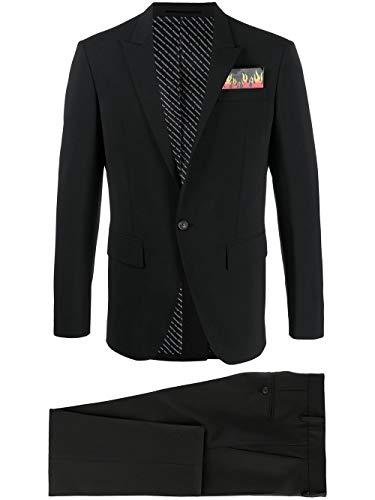 DSQUARED2 Luxury Fashion Herren S74FT0398S40320900 Schwarz Anzuge |