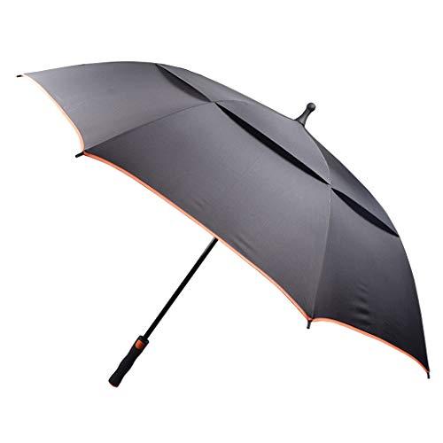 GFYS1201 Zakparaplu golfscherm winddicht, dubbel geventileerd, automatisch geopend, zonwering ultralichte en winddichte paraplu, dames heren