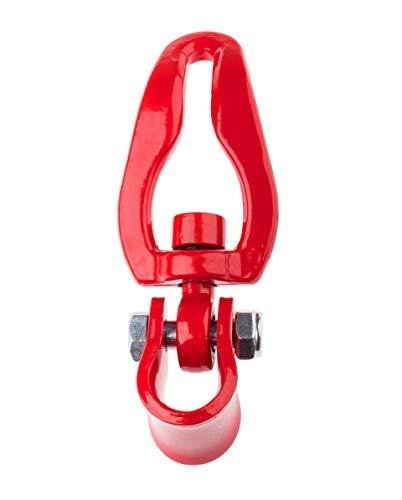 Seilgleitbügel für Chokerketten, Rotierend, für 7 mm und 8 mm Ketten
