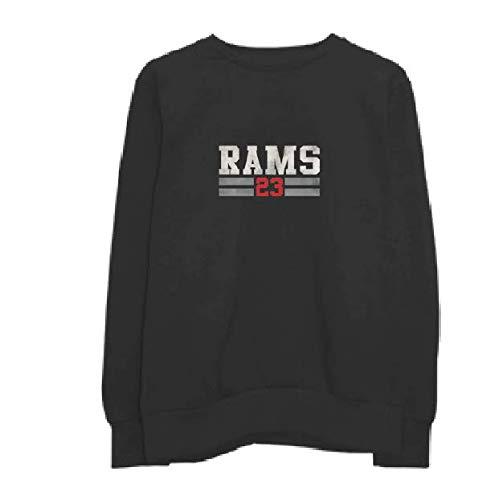 RAMS 23 Sudadera Invierno Mujer Winter. 97% algodón 3% Lycra. 34006 (S, Negro)