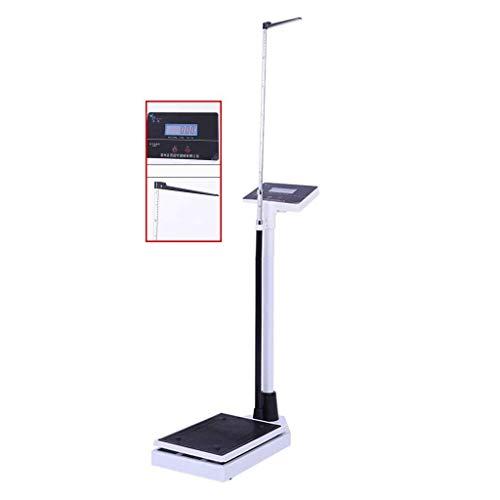 Básculas Digitales, báscula electrónica de Altura y Peso, báscula de baño Digital, Pantalla LCD Digital, Sensor de Alta precisión, Que Mide 70~190 cm (28-75 Pulgadas)